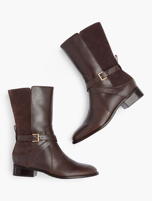 Tish Wrap Buckle Boots