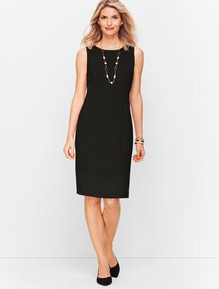 Italian Luxe Knit Sheath Dress - Solid