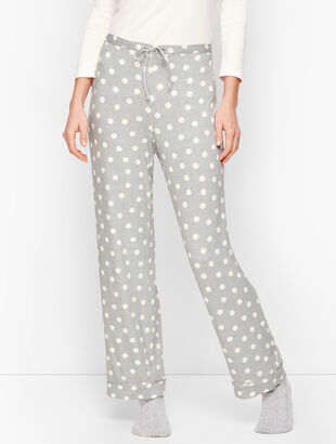 Jersey Sleep Pants - Dot
