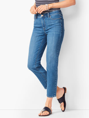 Denim Straight Crops - Circa Wash