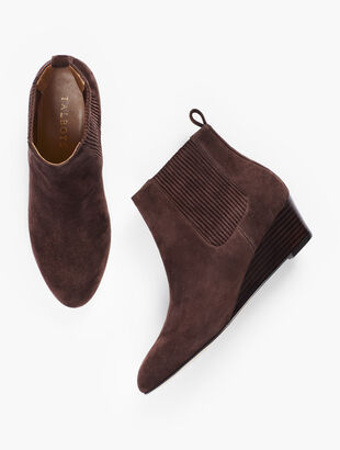 Isabel Wedge Booties