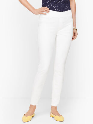 Sculpt Jeggings - White
