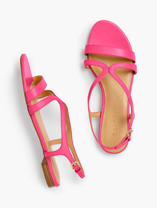 Keri Strap Sandals - Nappa Leather