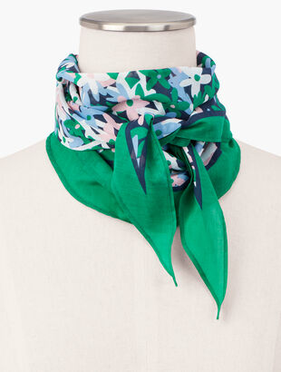 Floral Diamond Scarf