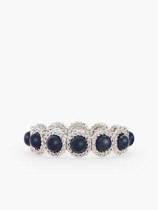 Cabochon Stretch Bracelet