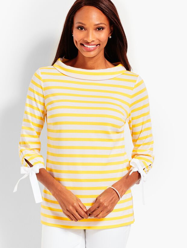 Sabrina Top - Stripe