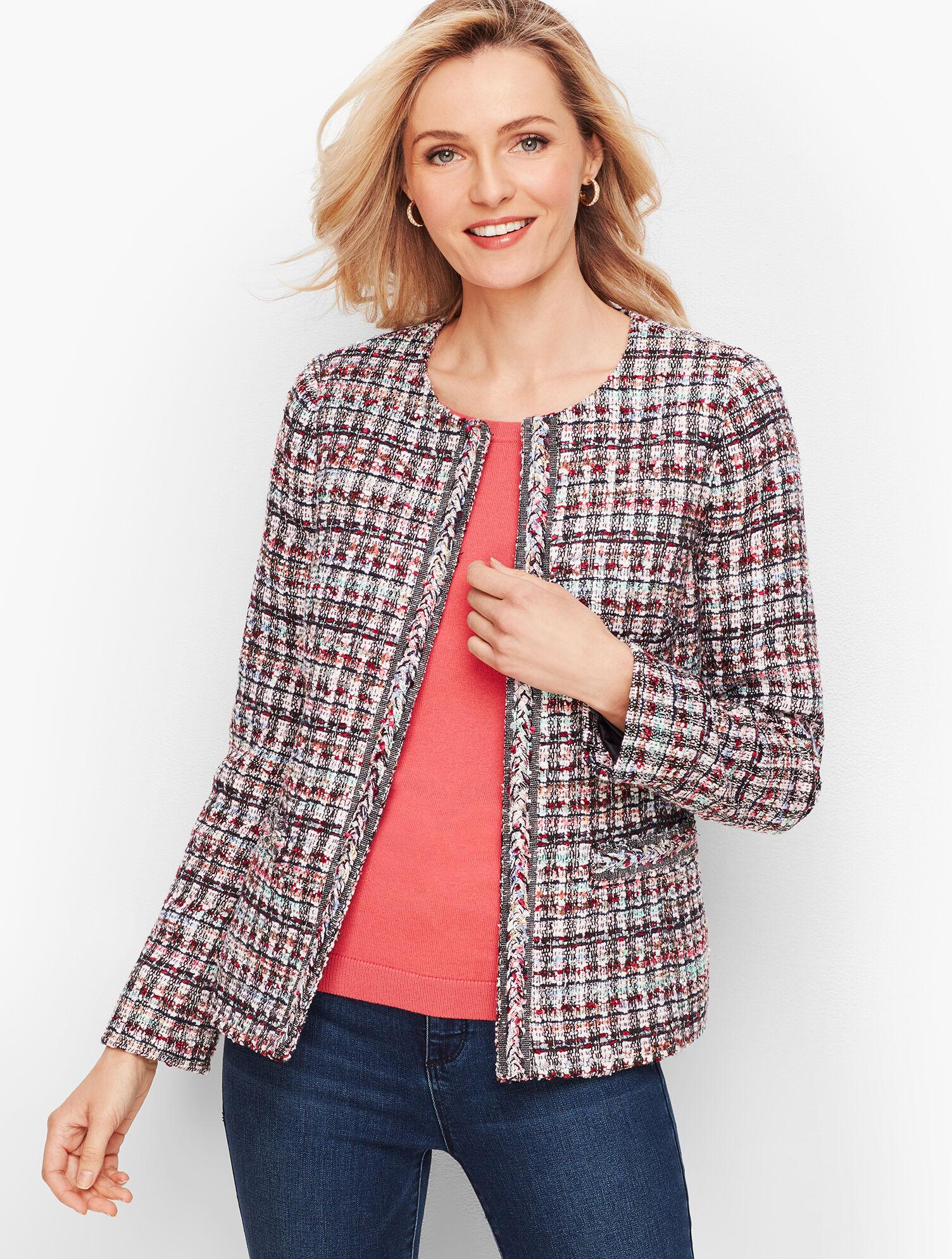 Adele Tweed Jacket