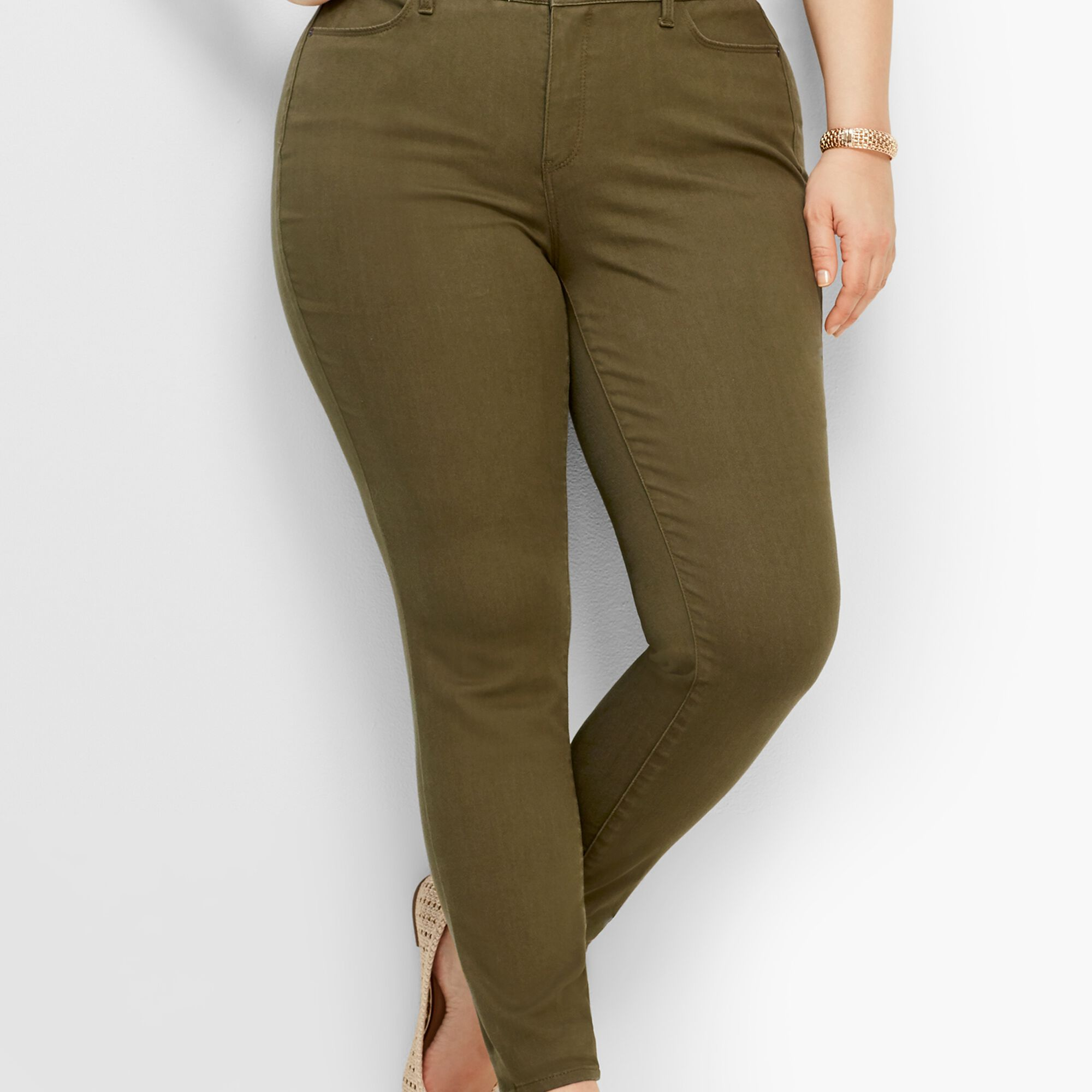 37f2a289a8fe4 Comfort Stretch Denim Jeggings - Colored Opens a New Window.