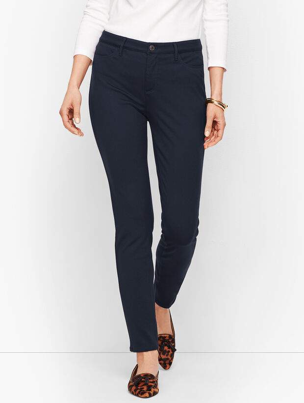 2780323fffbbc Images. Five-Pocket Ponte Jeggings Opens a New Window.