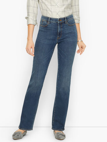 Barely Boot Jeans - Champlain Wash