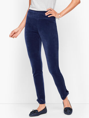 Lightweight Luxe Velour Leggings