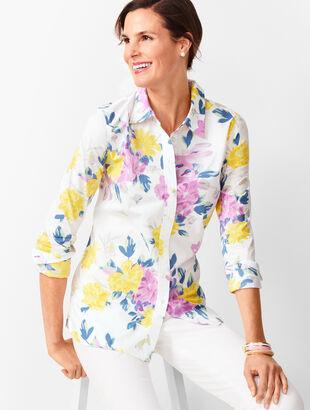 23487ddd176 Classic Cotton Shirt - Floral Bouquet