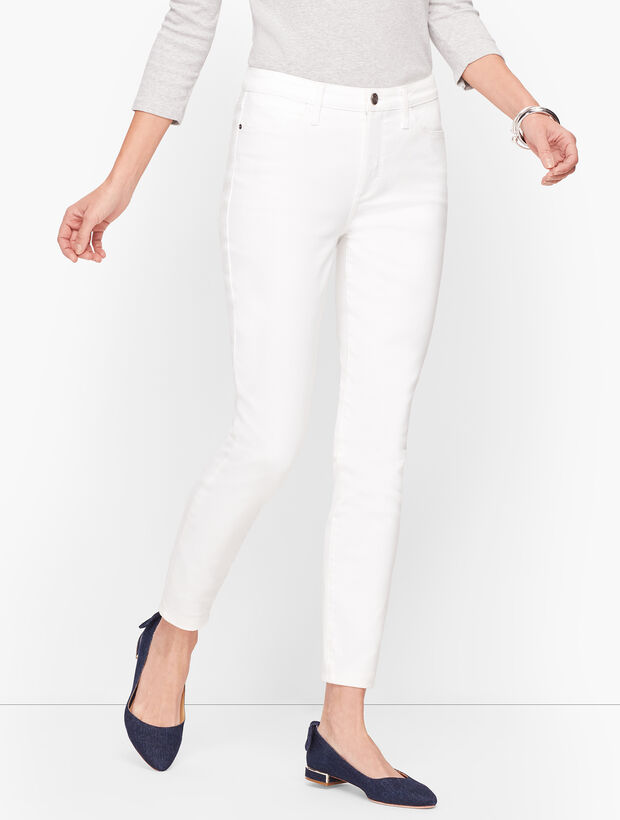Denim Jeggings - White
