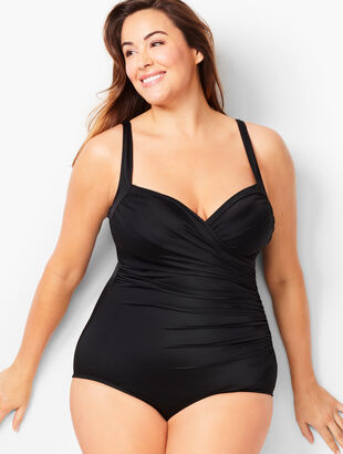 Plus Size Exclusive Miraclesuit® Sanibel One-Piece