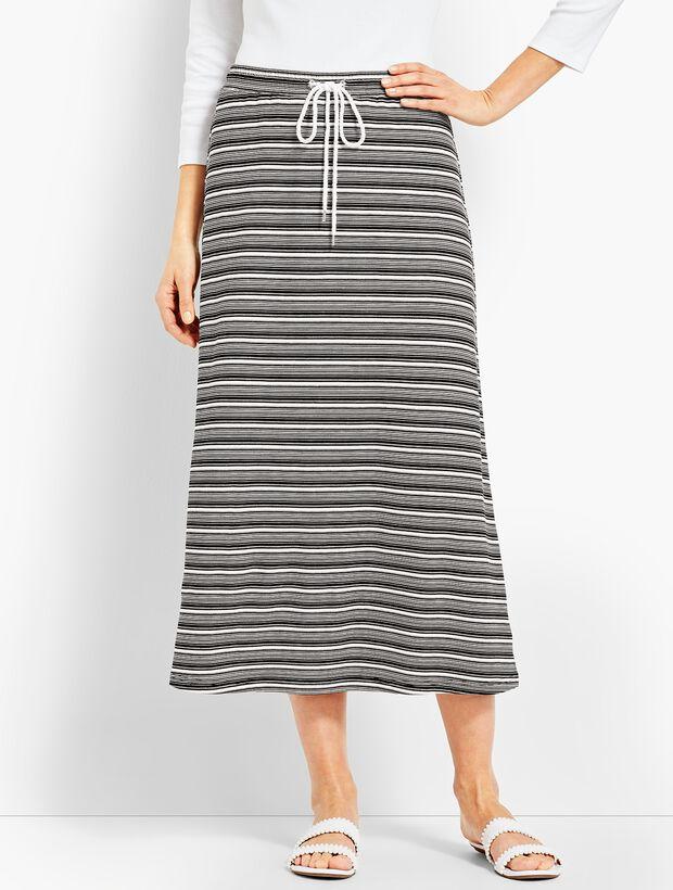 Sierra Stripe Terry Skirt