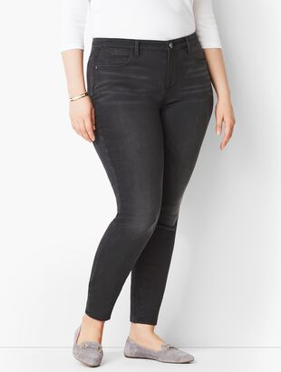 Comfort Stretch Denim Jeggings - Steel Grey