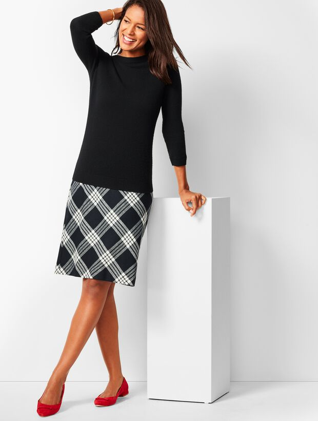 ed0bdc509 Images. Twill A-Line Skirt - Country Plaid