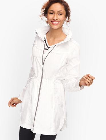Optional Hood Woven Jacket
