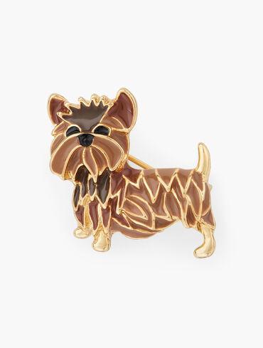 Terrier Brooch