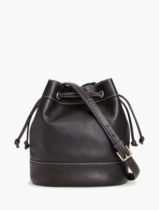Bucket Bag - Pebbled Leather