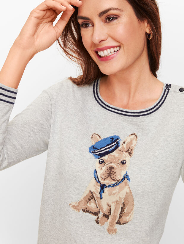 Frenchie Dog Sweater by Talbots