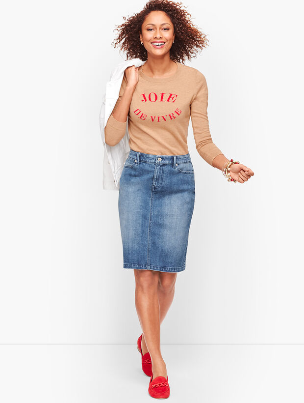 Denim Skirt - Genuine Medium