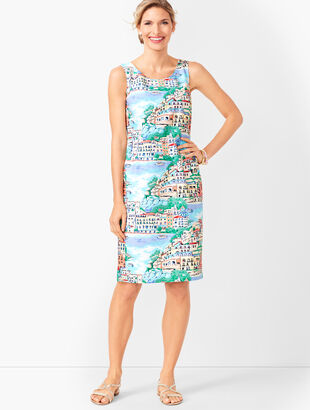Scenic Village Shift Dress