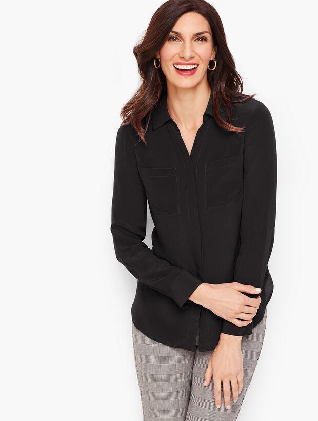 Washable Silk Shirt