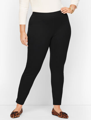 Talbots Soho Leggings - Ponte Solid