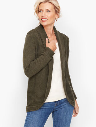 Mix Stitch Cocoon Sweater