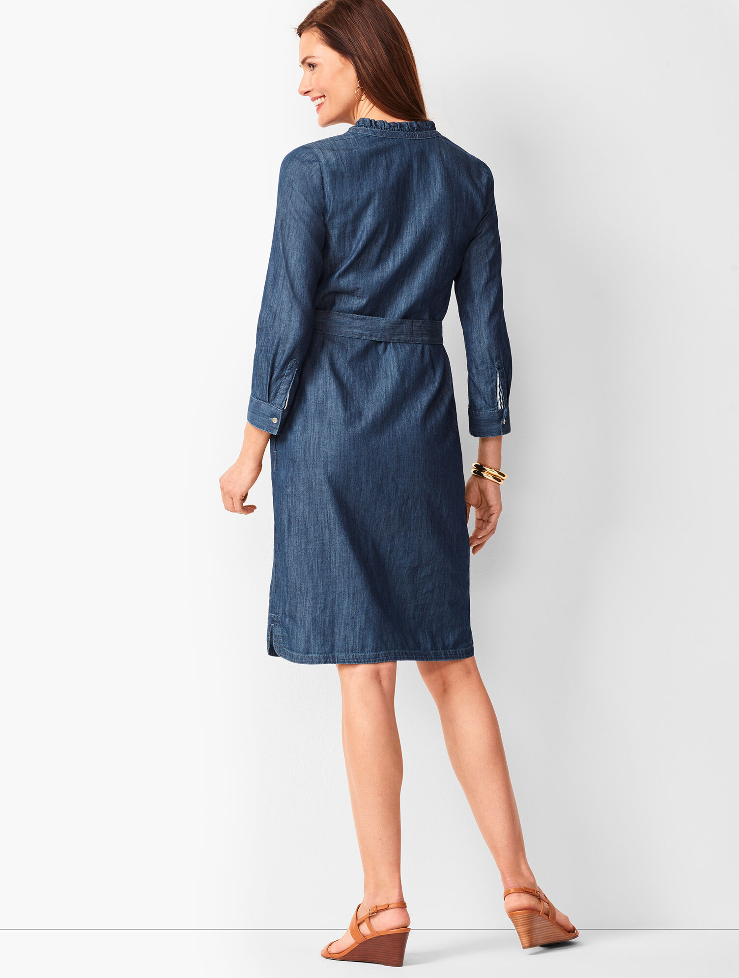Denim Shirt Dress | Talbots