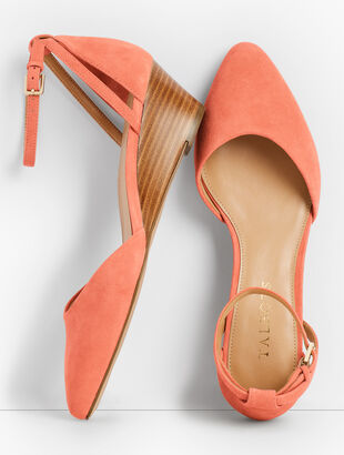 Laney dOrsay Wedges - Suede