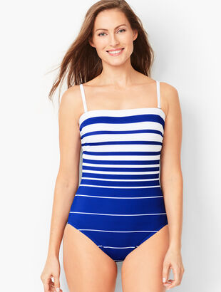 Miraclesuit® Avanti Stripe One-Piece Swimsuit