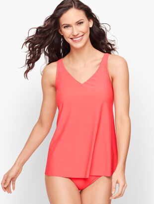 Miraclesuit® Crisscross Tankini Top - Solid