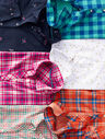 The Classic Cotton Shirt - Wonderland Plaid