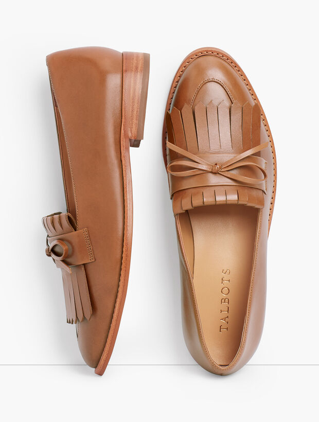 Leighton Kiltie Loafers - Leather