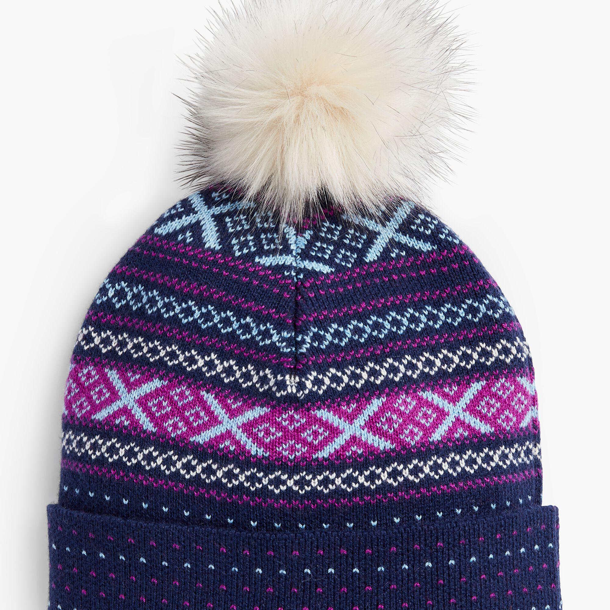 Images. Fair Isle Winter Hat 5cb146c53218