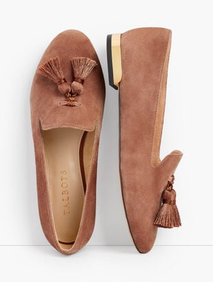 Ryan Tassel Loafers - Suede