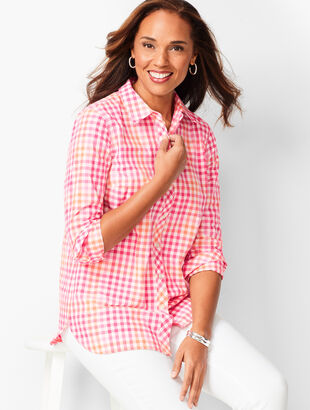 Classic Cotton Shirt - Pop Gingham