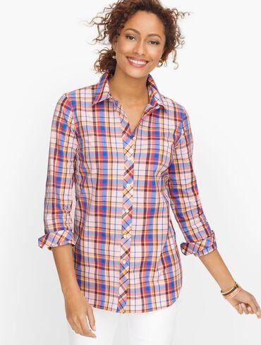 Classic Cotton Shirt - Pretty Plaid