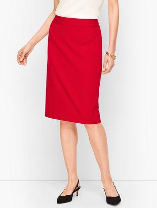 Italian Luxe Knit Pencil Skirt
