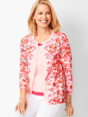 Charming Cardigan - Floral