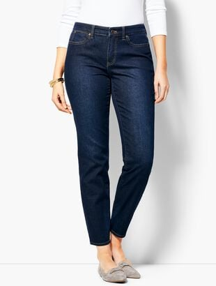 Slim Ankle Jean - Curvy Fit - Indy Wash