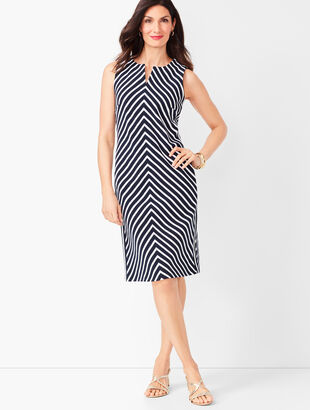 Easy Shift Dress - Stripe