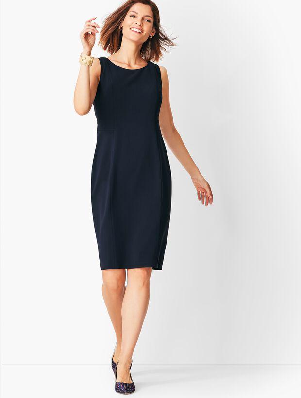 Easy Travel Suiting Sheath Dress Talbots