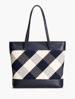 Check Handbag Collection - Tote