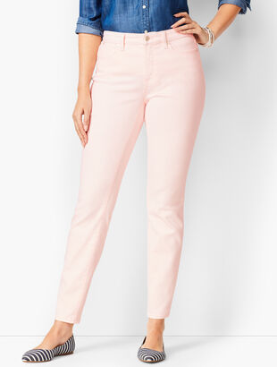 Slim Ankle Jeans - Curvy Fit - Light French Rose