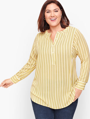 Simple Stripe Soft Shirt