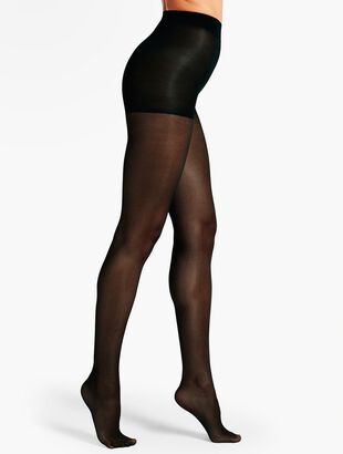 Plus Size Light Support Control Top Hosiery