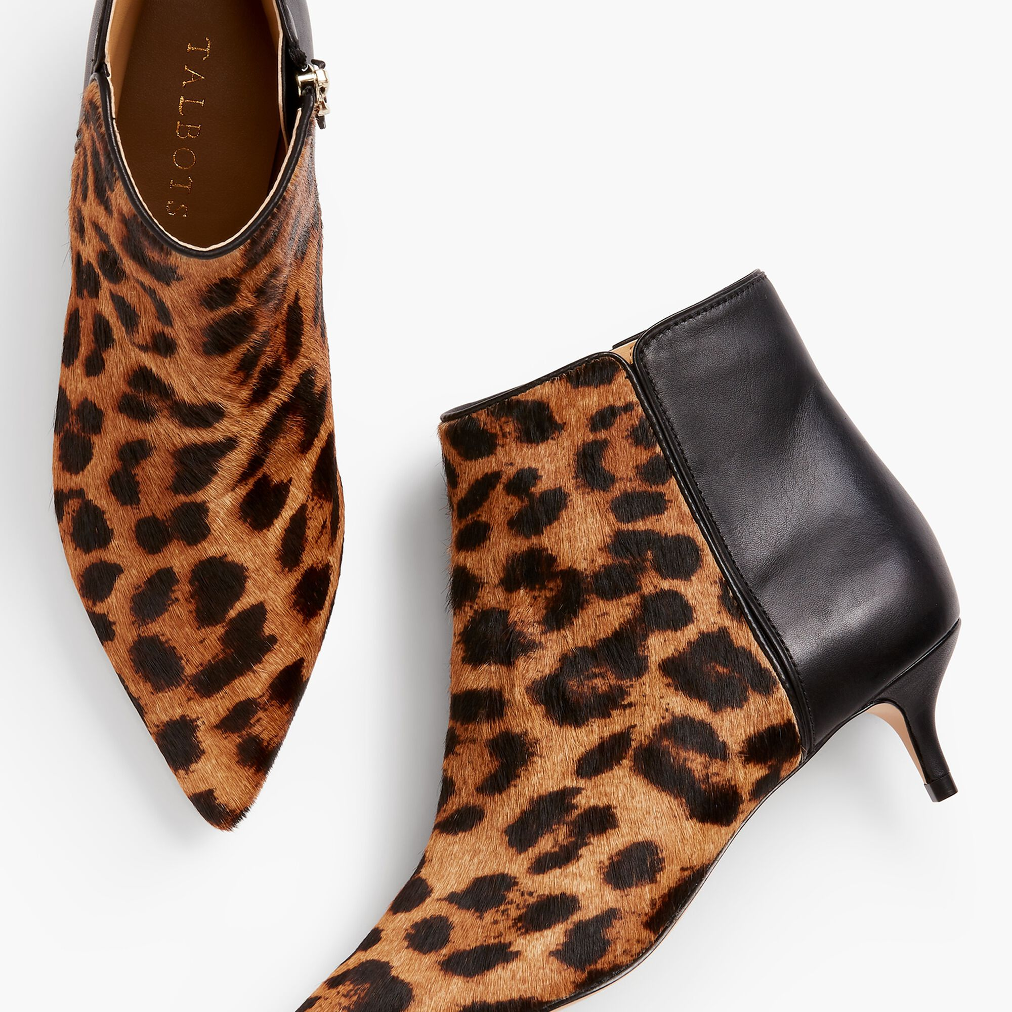 a71dadf62d90 Iona Kitten Heel Ankle Boots-Haircalf Opens a New Window.